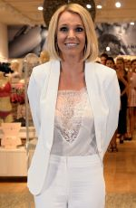 BRITNEY SPEARS at The Intimate Britney Spears Sleepwear Launch in Germany