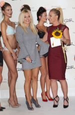 BRITNEY SPEARS at The Intimate Britney Spears Sleepwear Launch in Warsaw