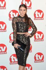 BROOKE VINCENT at TV Choice Awards 2014 in London
