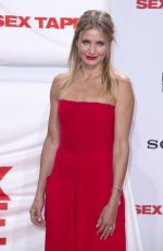 CAMERON DIAZ at S.x Tape Premiere in Berlin