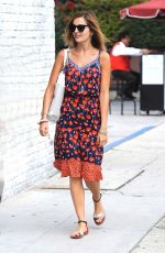 CAMILLA BELLE Out and About in Hollywood