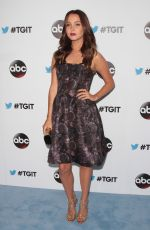 CAMILLA LUDDINGTON at #tgit Premiere in West Hollywood