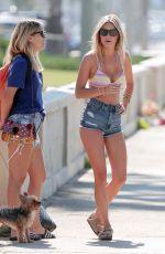 CAMILLE ROWE in Bikini at a Photoshoot in Santa Monica
