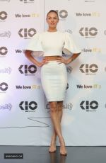 CANDICE SWANEPOEL at Kio Networks Press Conference