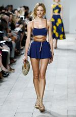 CANDICE SWANEPOEL at Runway of Michael Kors Fashion Show in New York