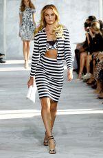 CANDICE SWANEPOEL on the Runway of Diane Von Furstenberg Fashion Show in New York
