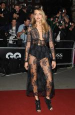CARA DELEVINGNE at 2014 GQ Men of the Year Awards in London