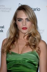 CARA DELEVINGNE at The Face of an Angel Premiere in Toronto
