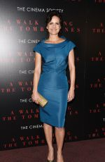 CARLA GUGINO at A Walk Among The Sombstones Screening in New York