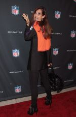 CAROL ALT at NFL Inaugural Hall of Fashion Launch in New York