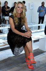 CAROLINA WOZNIACKI at Michael Kors Fashion Show in New York