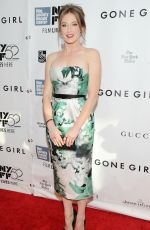 CARRIE COON at Gone Girl Premiere in New York