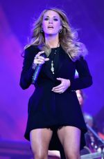 CARRIE UNDERWOOD Performs at Global Citizen Festival in New York