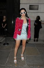 CHARLI XCX at House of Holland Fashion Show in London