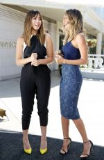 CHLOE BENNER on the Set of Extra in Los Angeles