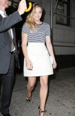 CHLOE MORETZ Arrives at Her Hotel in Manhattan