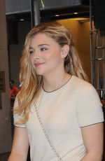 CHLOE MORETZ at MTV Studios in New York