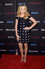 CHLOE MORETZ at The Equalizer Premiere in new York