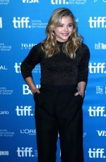 CHLOE MORETZ at The Equalizer Press Conference in Toronto