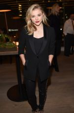 CHLOE MORETZ at WB and Dolce & Gabbana Cocktail Party in Toronto