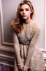 CHLOE MORETZ in Elle Magazine, October 2014 Issue