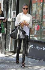 CHRISSY TEIGEN Out and About in New York