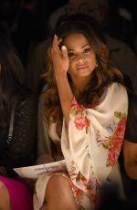CHRISTINA MILIAN at Betsey Johnson Fashion Show in New York