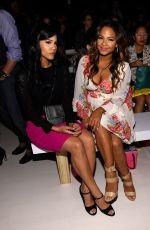 CHRISTINA MILIAN at Betsey Johnson Fashion Show in New York
