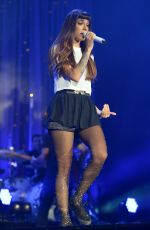 CHRISTINA PERRI Performs at Demi World Tour at American Airlines Arena in Miami