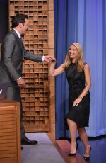 CLAIRE DANES at Tonight Show Starring Jimmy Fallon