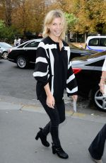 CLEMENCE POESY at Chloe Show at Paris Fashion Week