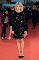 CLEMENCE POESY at Get On Up Premiere in France