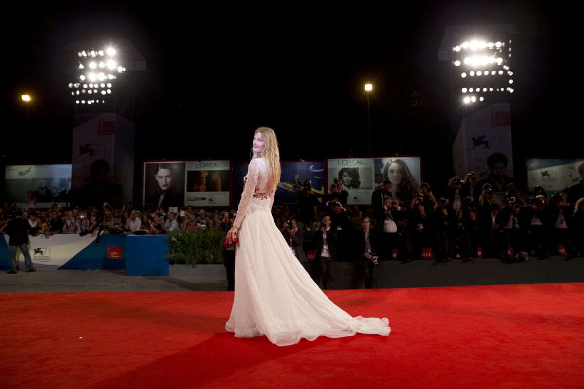 CONSTANCE JABLONSKI at The Humbling Premiere in Venice