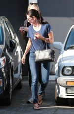 COURTNEY COX Out and About in Beverly Hills 1609