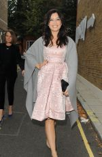 DAISY LOWE Arrives Giles Fashion Show in London