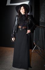 DAISY LOWE at Saint Laurent Fashion Show in Paris
