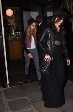 DAISY LOWE Night Out in Paris