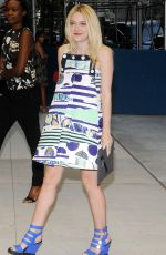 DAKOTA FANNING at Fashion Media Awards in New York