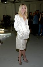 DAKOTA FANNING at Rodarte Fashion Show in New York