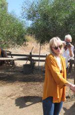 DAKOTA JOHNSON at Equestrian Center of Pantelleria in Italy