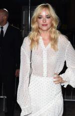 DAKOTA JOHNSON at Stella Mccartney Green Carpet Collection Fashion Show in London