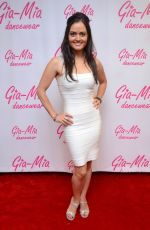 DANICA MCKELLAR at Dancing With the Stars Season 19 Gifting Suite in Los Angeles