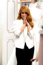 DEBBY RYAN Out Shopping for a Wedding Dress