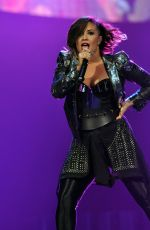DEMI LOVATO Performs in Raleigh