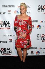DIANA AGRON at Global Citizen Festival in New York