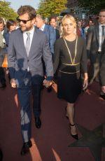 DIANE KRUGER at Berlin Walk of Fame Reopening