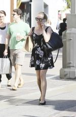 DIANE KRUGER Out at the Grove in West Hollywood
