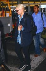 DIANNA AGRON Arrives at LAX Airport in Los Angeles 2909