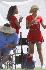 DIANNA AGRON on the Set of Glee, Season 6
