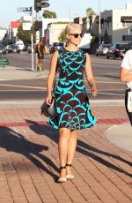 DIANNA AGRON Out and About in West Hollywood 1909
